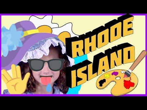 Is Rhode Island REALLY an island?! (YR 1776.8) | Bratayley Makes History (Rhode Island)