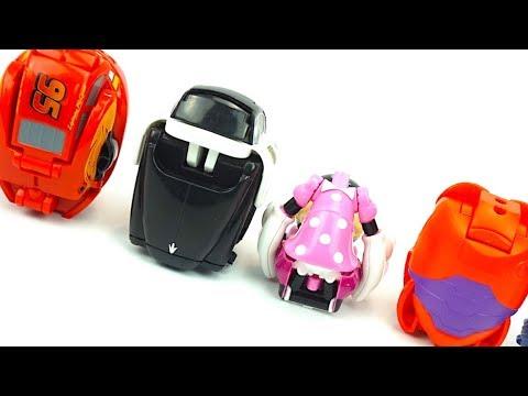 Распаковываем сюрпризы яйца игрушки трансформеры. Игрушки для детей. Детский канал Игрушкин ТВ