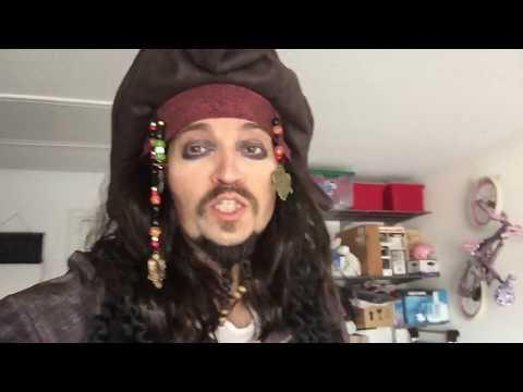 My Captain Jack Sparrow impression / costume