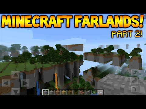 MINECRAFT FAR LANDS FUN!! - Minecraft Pocket Edition: Farlands How To Break  MCPE (MCPE 0 15 0)