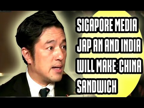 SINGAPORE MEDIA INDIA JAPAN WILL MAKE CHINA'S SANDWHICH JAPANESE PARLIAMENT MEMBER 2017 LATEST