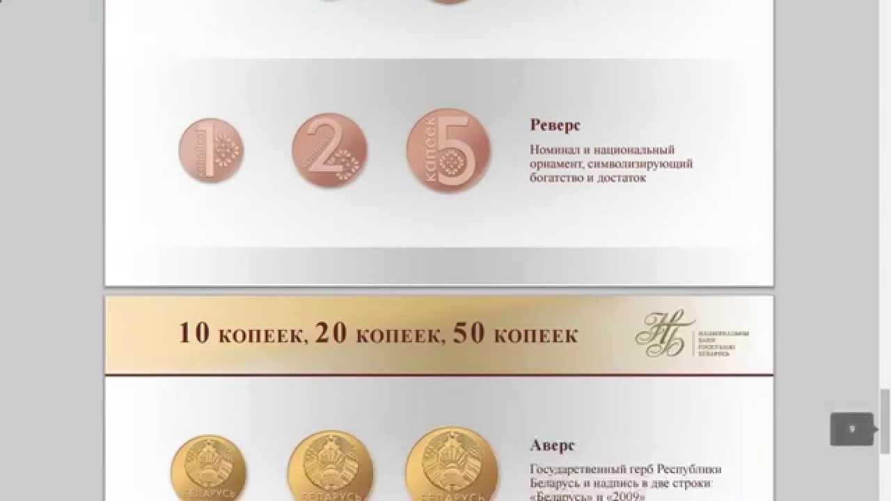 новые деньги беларуси 2016 фото соотношение
