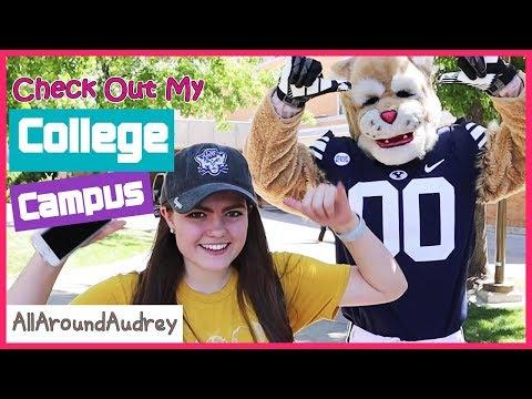 College University Campus Tour 2018 - BYU Utah College Life / AllAroundAudrey