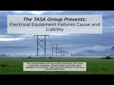 Electrical Equipment Failures: Cause & Liability