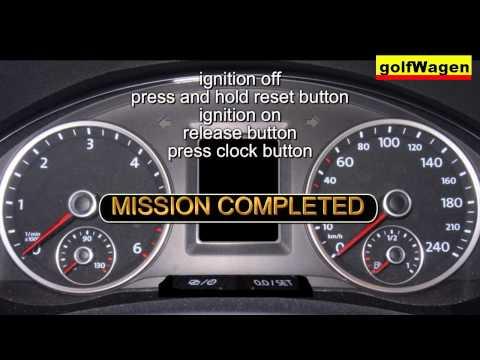 Volkswagen Polo Reset Service Light