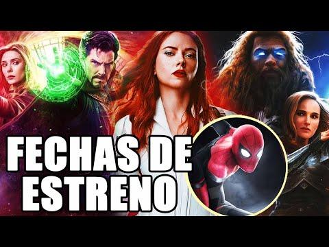 ¡CONFIRMADO! Fechas oficiales de las películas y series de Marvel Studios Fase 4 y Fase 5 2020-2021