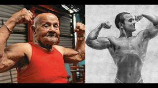 103 Years Old indian Bodybuilder- Manohar Aich's