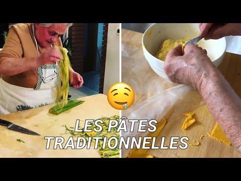 Elle filme les recettes traditionnelles de pâtes en parcourant l'Italie