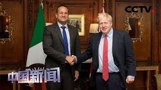 """[中国新闻] 英国""""脱欧""""进入""""冲刺""""期 英爱领导人为""""脱欧""""协议保留""""生机""""   CCTV中文国际"""