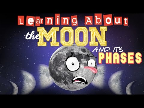 Learning About The Moon And Its Phases Youtube