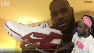 Reacting To Lebron James Important Message! HIS NEW SHOE RETROS REVEAL!