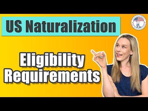 US Citizenship Eligibility Requirements | USCIS N-400 | USCitizenshipTest.org