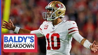 Breaking Down Jimmy Garoppolo's Stellar Week 9 Performance | Baldy's Breakdown