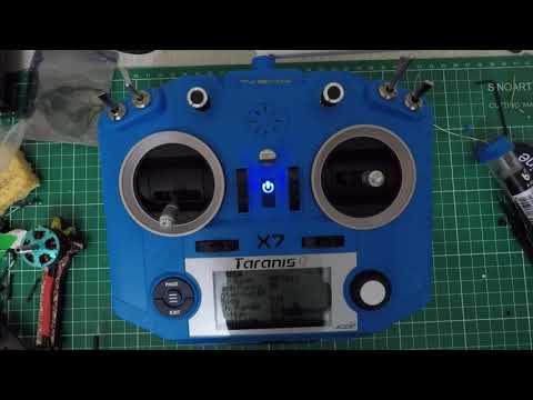 Como fazer o bind no radio FRSKY Taranis Qx7
