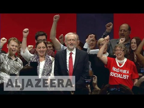 UK: Labour's Corbyn outlines socialist vision