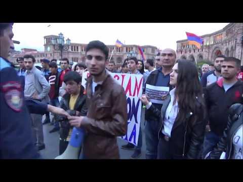 Армяне с БОЛЬШОЙ любовью  к Путину.    Смотреть ВСЕМ.