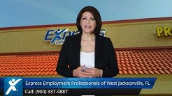 Express Employment Professionals of West Jacksonville, FL |Wonderful Five Star Review by Jahn W.