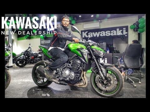 New Kawasaki Dealership opens in Kolkata Feat  Z900, Ninja 650, Vulcan 650, Z1000 RWR