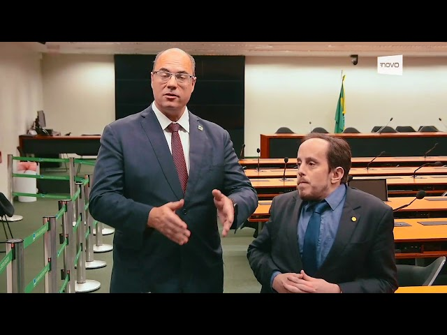 Witzel, governador do Rio, apoia a inclusão dos estados e municípios na Reforma da Previdência
