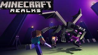 "Minecraft Pocket Edition: Survival Realm Livestream: Skyland Online 4 ""The End"""