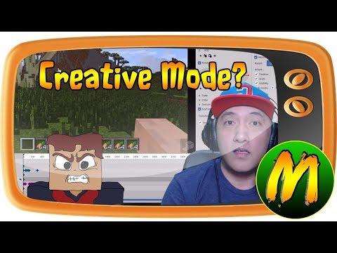 VLOG: SI TENTEN NAKA CREATIVE MODE ?!?!