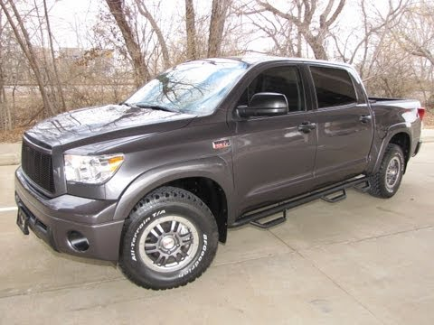 for sale 2012 toyota tundra crew max 4x4 rock warrior. Black Bedroom Furniture Sets. Home Design Ideas