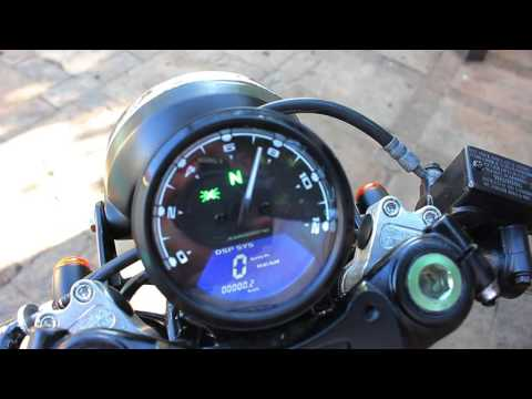 Thumbnail: Ligando RD 135 Cafe Racer - Universal Digital/Analogic speedometer.