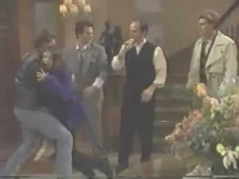1997 - General Hospital - Emily (AMBER TAMBLYN) overdoses and collapses (unconscious, CPR)