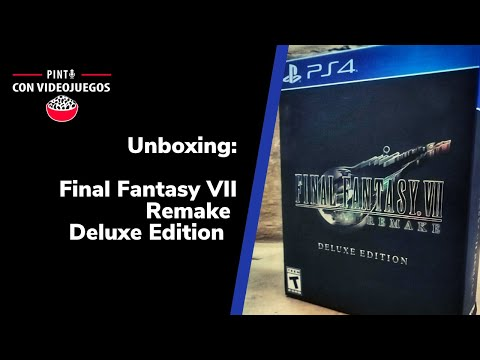 ¡UNBOXING! Final Fantasy VII Remake Deluxe Edition