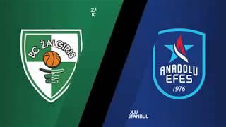 #EuroLeague 17. Hafta: Zalgiris Kaunas - Anadolu Efes