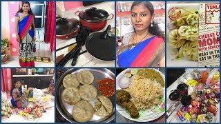 #DIML Sep 28th Friday Vlog/#D Mart Shopping Haul/ #Momos Trying at home/#Amulya