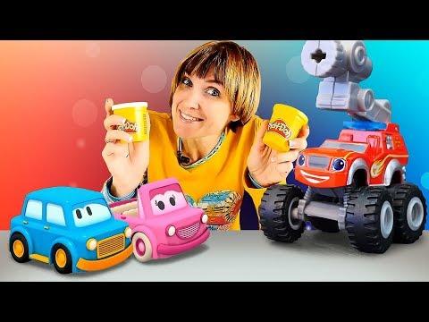 Лучшее про машинки: Капуки Кануки. Маша и друзья. Видео для детей. - Видео онлайн