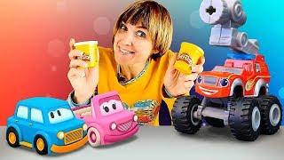 Лучшее про машинки: Капуки Кануки. Маша и друзья. Видео для детей.
