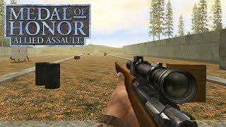 НОСТАЛЬГИЧЕСКАЯ ТРЕНИРОВОЧНАЯ МИССИЯ Medal Of Honor Allied Assault