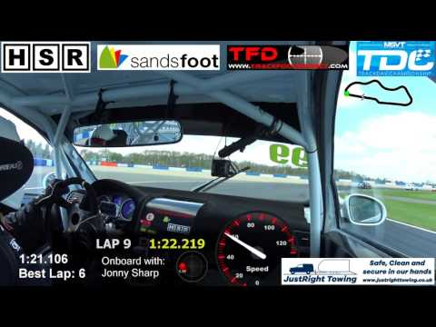 TDC Round 1 - Donington - HSR VW Golf - 23/04/2017