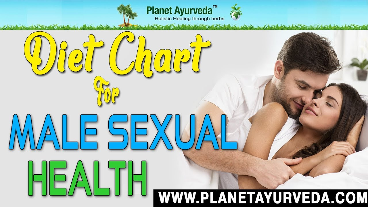 Mens sexual health diet