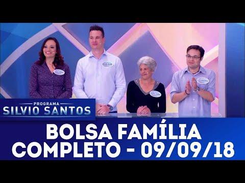 Bolsa Família | Programa Silvio Santos (09/09/18)