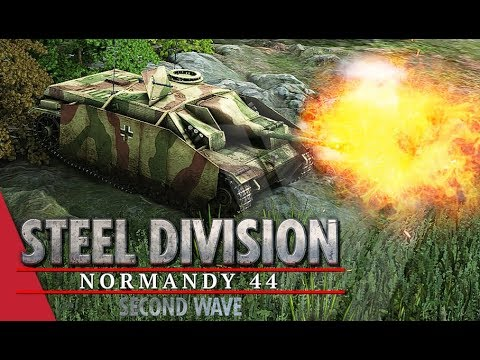 My Nemesis?! Steel Division: Normandy 44 Gameplay Mont Ormel, 4v4