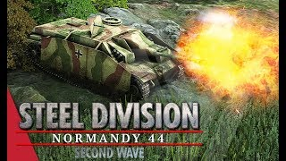My Nemesis Steel Division Normandy 44 Gameplay Mont Ormel, 4v4