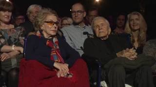 Michael Douglas Honors Kirk Douglas at MPTF's 95th