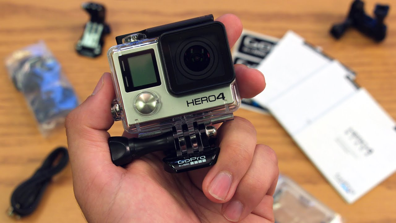 NEW! GoPro HERO 4 Black Edition Unboxing, Hands On, & Initial Review (GoPro HERO4) - YouTube