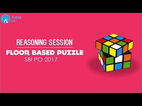 SBI PO 2017 | Floor Based Puzzle Reasoning For Banking Exam | Online Coaching for SBI IBPS Bank PO