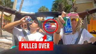 Drinking Fake Beer While Driving By Cops 2!