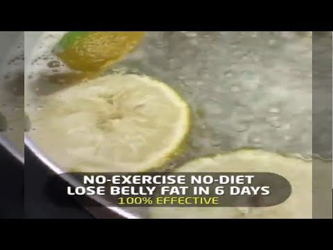 lose-belly-fats-in-6-days- -no-exercise-no-diet- -100%-effective