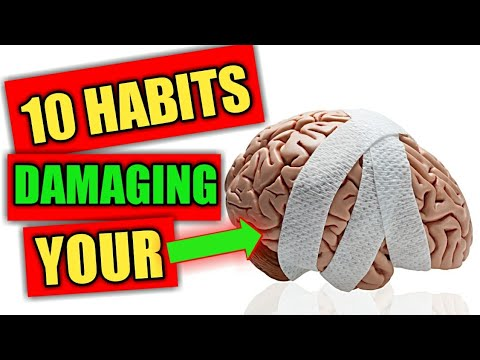 10 habits you do everyday that are seriously damaging your BRAIN