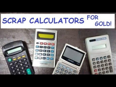 Scrap Calkulators For Gold!