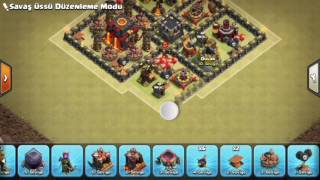 Clash Of Clans(TH10) ** Town Hall 10 Anti 2 Star War Base **