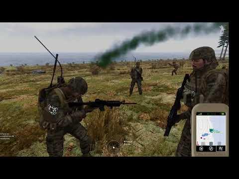 [A3C] CO@59 Running with Rifles (Paladyni - Dowódca operacji - Black Jack)