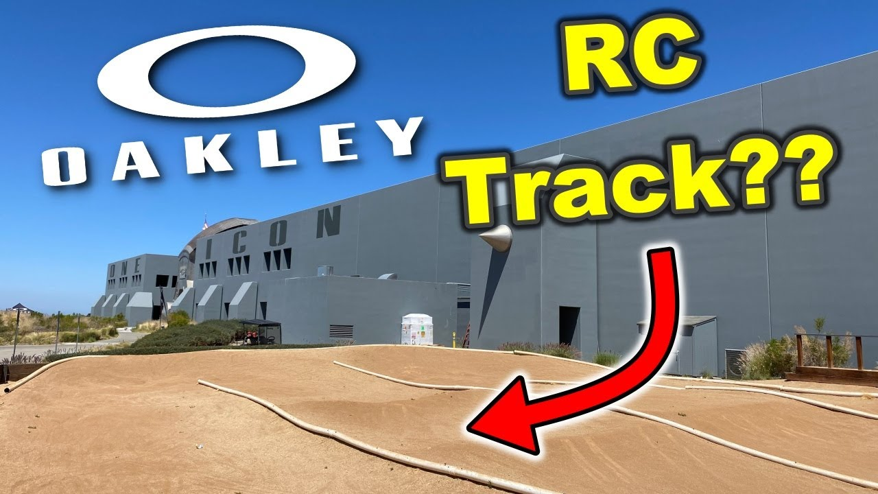 RC tracks at Oakley headquarters! (RC Travels)
