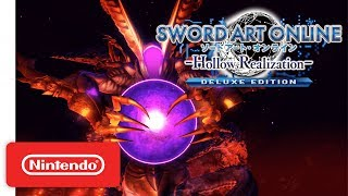 SWORD ART ONLINE: Hollow Realization - Deluxe Edition - Announcement Trailer - Nintendo Switch